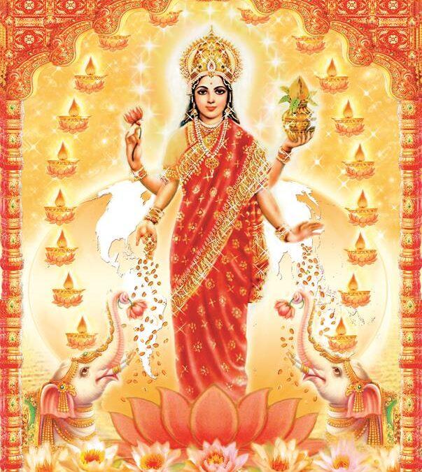 Venus & Sri Lakshmi